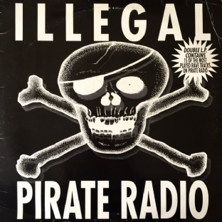 V/A - Illegal Pirate Radio (LP) (G/G)